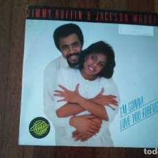 Discos de vinilo: JIMMY RUFFIN & JACKSON MOORE-I'M GONNA LOVE YOU FOREVER.MAXI. Lote 171978500