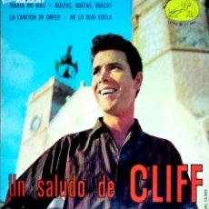 Discos de vinilo: 23829 - CLIFF RICHARDS - UN SALUDO DE CLIFF. Lote 171979060