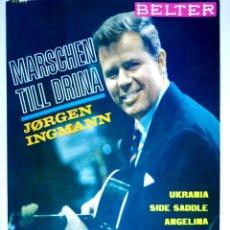 Discos de vinilo: 23836 - JORGE IGNMANN - CANCIONES: MARSCHEN TILL DRINA - UKRANIA - SIDE SADOLE - ANGELINA. Lote 171984183