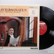 Discos de vinilo: DISCO LP DE VINILO - BEETHOVEN KLAVIERSONATEN G-DUR OP 31,1... / CLAUDIO ARRAU - PHILIPS - HOLANDA. Lote 171988142