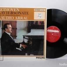 Discos de vinilo: DISCO LP DE VINILO - BEETHOVEN KLAVIERSONATEN HAMMERKLAVIER-SONATE / CLAUDIO ARRAU -PHILIPS -HOLANDA. Lote 171988183