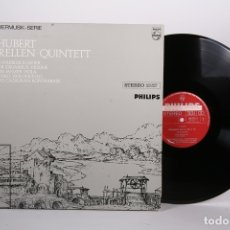 Discos de vinilo: DISCO LP DE VINILO - SCHUBERT FORELLEN QUINTETT / KAMMERMUSIK SERIE - PHILIPS - HOLANDA. Lote 171988268