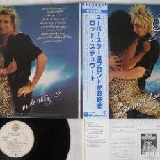 Discos de vinilo: ROD STEWART - BLONDES HAVE MORE FUN ( JAPAN IMPORT ). Lote 171988377