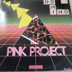 Discos de vinilo: LP DOBLE PINK PROJETC. DOMINO. Lote 171995613
