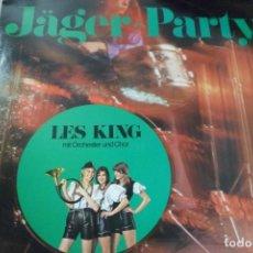 Discos de vinilo: LP JÄGER - PARTY .LES KINGS MIT ORCHESTER UND CHOR. Lote 171997217