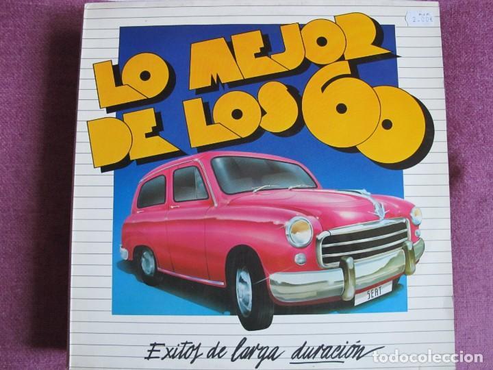 LP - LO MEJOR DE LOS 60 - VARIOS (VER FOTO ADJUNTA) (PROMO ESPAÑOL, PHILIPS 1984) (Música - Discos - LP Vinilo - Grupos Españoles 50 y 60)
