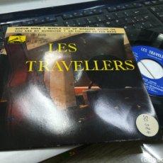 Discos de vinilo: LES TRAVELLERS EP SOEUR ANNE + 3 ESPAÑA 1961. Lote 172002910