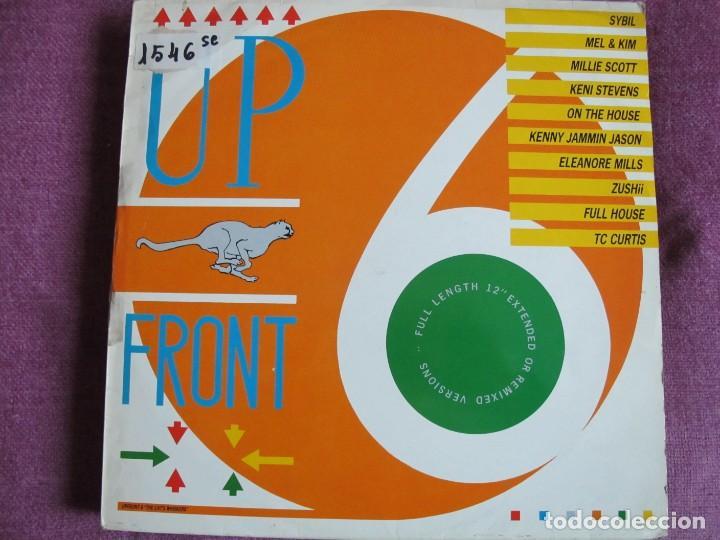 LP - UPFRONT 6 - VARIOS (VER FOTO ADJUNTA) (ENGLAND, SERIOUS RECORDS 1987) (Música - Discos - LP Vinilo - Disco y Dance)