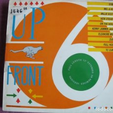 Discos de vinilo: LP - UPFRONT 6 - VARIOS (VER FOTO ADJUNTA) (ENGLAND, SERIOUS RECORDS 1987). Lote 172002983