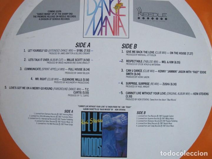 Discos de vinilo: LP - UPFRONT 6 - VARIOS (VER FOTO ADJUNTA) (ENGLAND, SERIOUS RECORDS 1987) - Foto 2 - 172002983