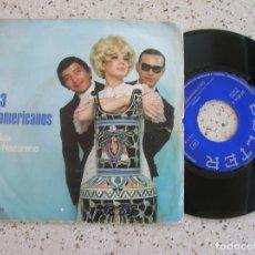 Discos de vinilo: DISCO DE LOS 3 SUDAMERICANOS TEMAS ,CANDIDA Y NACIO NAZARENO. Lote 172009007