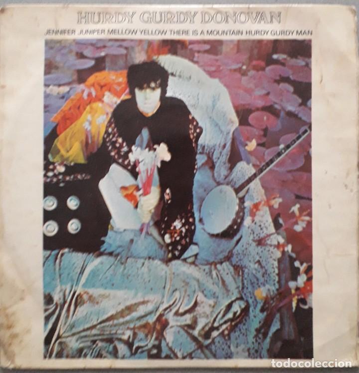 DONOVAN. HURDY GURDY. ED. INGLESA 1968 (Música - Discos de Vinilo - EPs - Pop - Rock Internacional de los 50 y 60)