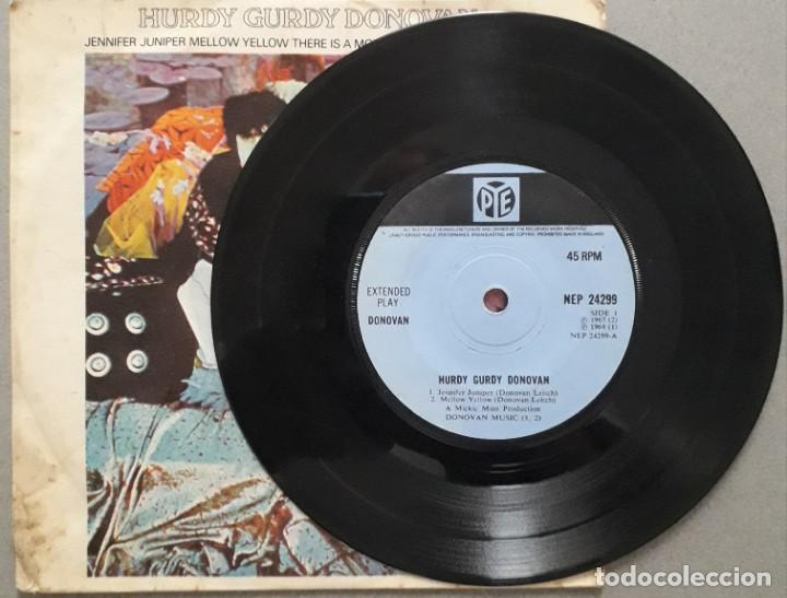 Discos de vinilo: DONOVAN. HURDY GURDY. ED. INGLESA 1968 - Foto 3 - 172012504