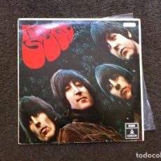 Discos de vinilo: THE BEATLES. RUBBER SOUL (LP) 1966, ESPAÑA. Lote 172013629