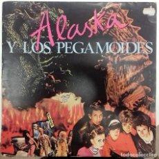 Dischi in vinile: ALASKA Y LOS PEGAMOIDES - ALASKA Y LOS PEGAMOIDES LP COMPILATION ED . ESPAÑOLA 1983. Lote 172015890
