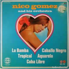 Discos de vinilo: NICO GOMEZ AND HIS ORCHESTRA – WITH LOVE FROM... - LP COMP. HOLANDA 1972 - CAPRI CA 41-G. Lote 172019367