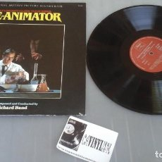 Discos de vinilo: RICHARD BAND ?– RE-ANIMATOR (ORIGINAL MOTION PICTURE SOUNDTRACK) LP VINILO ?– VS-1018 . Lote 172021802