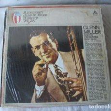 Discos de vinilo: GLENN MILLER AND HIS ORCHESTRA . Lote 172044547