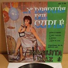 Discos de vinilo: MARUJITA DIAZ / ...Y DESPUÉS DEL CUPLÉ / EP - HISPAVOX-1959 / MBC. ***/***. Lote 172045943