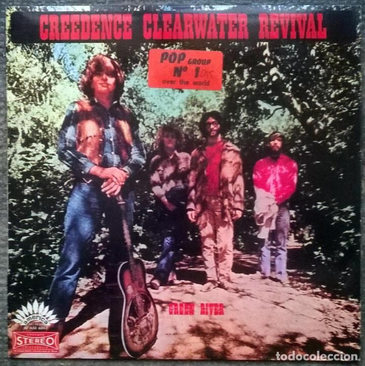 CREEDENCE CLEARWATER REVIVAL. GREEN RIVER. AMERICA, FRANCE 1969 LP 30 AM 6047 (Música - Discos - LP Vinilo - Pop - Rock - Extranjero de los 70)