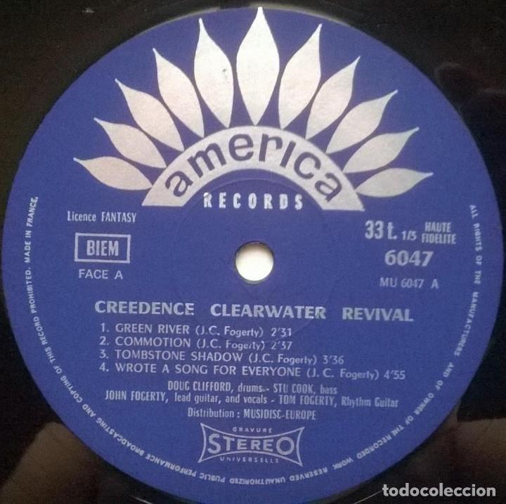 Discos de vinilo: Creedence Clearwater Revival. Green River. America, France 1969 LP 30 AM 6047 - Foto 3 - 194899171