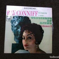 Discos de vinilo: RAY CONNIFF, SU ORQUESTA Y COROS. CONCIERTO EN RITMO. VOLUMEN II. (LP) 1963. Lote 172060775