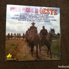 Discos de vinilo: TEMAS DE PELÍCULAS DEL OESTE (LP) 1977. Lote 172061417