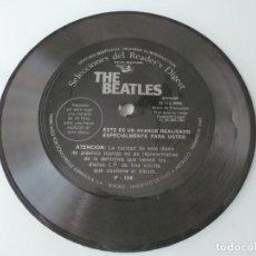 Disques de vinyle: THE BEATLES FLEXI 1981 EDITADO POR SELECCIONES DEL READER'S DIGEST ESPAÑA. Lote 172061448