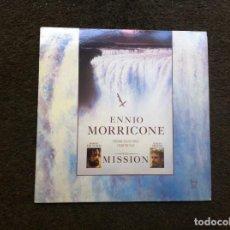 Discos de vinilo: ENNIO MORRICONE. THE MISSION (LP) 1986. Lote 172063147
