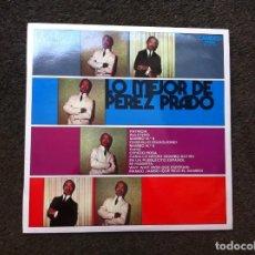 Discos de vinilo: LO MEJOR DE PÉREZ PRADO (LP) 1971. Lote 172063759