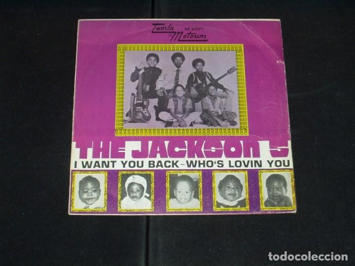 THE JACKSON 5 SINGLE I WANT YOU BACK (Música - Discos - Singles Vinilo - Funk, Soul y Black Music)