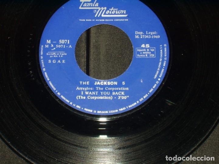 Discos de vinilo: THE JACKSON 5 SINGLE I WANT YOU BACK - Foto 3 - 172066928