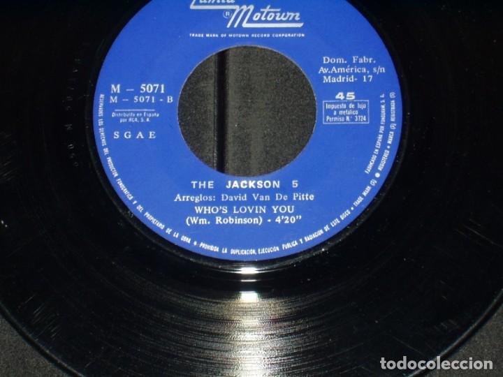 Discos de vinilo: THE JACKSON 5 SINGLE I WANT YOU BACK - Foto 4 - 172066928