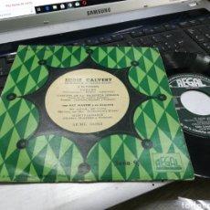 Discos de vinilo: EDDIE CALVERT EP VERANO + 3. Lote 172067164