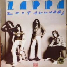 Discos de vinilo: FRANK ZAPPA - ZOOT ALLURES. Lote 172071152
