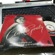 Discos de vinilo: CLAUDE GOATY EP QUE SERÁ, SERÁ + 3 ESPAÑA. Lote 172072835