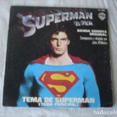 Discos de vinilo: JOHN WILLIAMS SUPERMAN - EL FILM - BANDA SONORA ORIGINAL . Lote 172073260