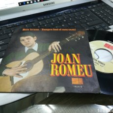 Discos de vinilo: JOAN ROMEU SINGLE PROMOCIONAL NOIA BRUNA 1968. Lote 172073692