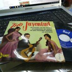 Discos de vinilo: TRIO JUVENTUD EP MI CARIÑO EN TUS MANOS + 3 1962. Lote 172074569