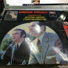 Discos de vinilo: ENRIQUE OROZCO LP 1972. Lote 172075588