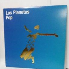 Discos de vinilo: LP ** LOS PLANETAS ** POP ** COVER/ MINT ** LP/ MINT ** REED. EL EJERCITO ROJO EER 013. Lote 172075667