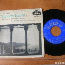 Discos de vinilo: DISCO DE THE LONDON SYMPHONY ORCHESTRA ,CAPRICCIO ITALIEN. Lote 172079982