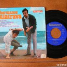 Discos de vinilo: DISCO DE LOS HERMANOS CALATRAVA INCLUYE 4 CANCIONES. Lote 172080373