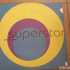 Discos de vinilo: NOVY VS. ENIAC – SUPERSTAR - KOSMO RECORDS 1997 - MAXI - PLS 870. Lote 172081558