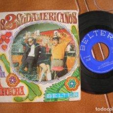 Discos de vinilo: DISCO DE LOS 3 SUDAMERICANOS ,UNA VIDA NUEVA Y ,LA CHEVECHA. Lote 172084189