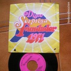 Discos de vinilo: DISCO SORPRESA DE FUNDADOR 1971 ,TEMAS DE MIGUEL RAMOS. Lote 172085078