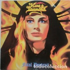 Discos de vinilo: KING DIAMOND – FATAL PORTRAIT -LP-. Lote 218137930