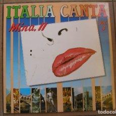 Discos de vinilo: MINA – MINA, II ITALIA CANTA VOL. 3 - ASPA RECORDS 1989 - MAXI - PL -. Lote 172085942