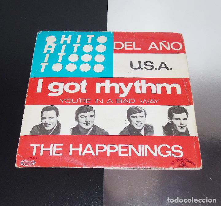 THE HAPPENINGS -- I GOR RHYTHM / YOU´RE IN A BAD WAY ----- ORIGINAL AÑO 1967----VG + (Música - Discos - Singles Vinilo - Pop - Rock Internacional de los 50 y 60)