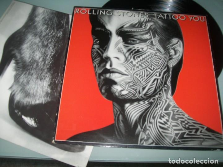 The Rolling Stones Tattoo You Lp De Cbs Edicion España Muy Buen Estado